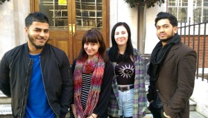 Muhammad, Joanne, Kerrilyn and Razzaq (from left to right).