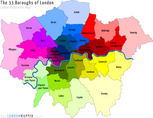 London Mapper Basemap